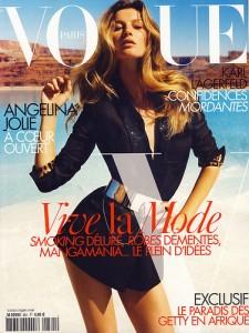 Gisele Bundchen Emmanuelle Alt Vogue Paris