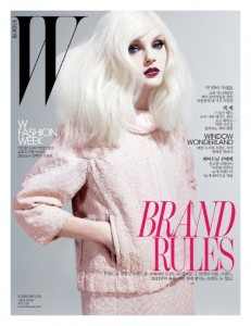 Jessica Stam W Korea February 2011