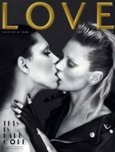 Kate Moss Lea T Love Magazine Lesbian