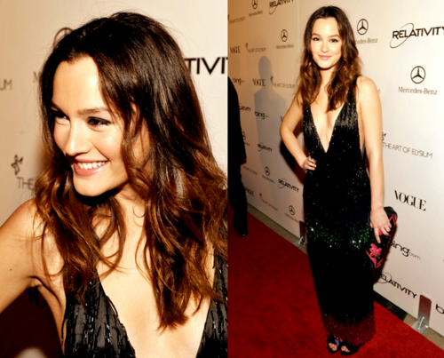 Leighton Meester Golden Globes 2011. Last night, Leighton Meester wore an ...