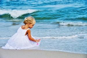 Little Girl Ocean