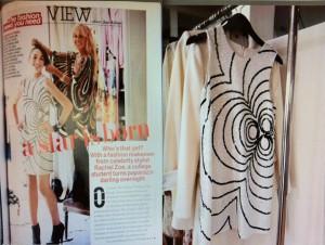 Rachel Zoe Stole Design