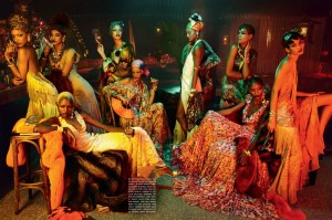 The Blackallure Vogue Italia