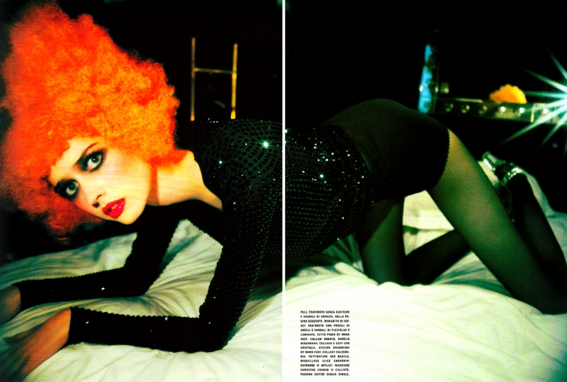gemma ward vogue italia. Ann Ward Vogue Italia