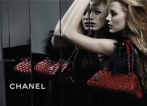 Blake Lively Chanel Mademoiselle