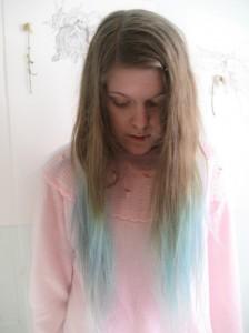 Blue Tip Hair