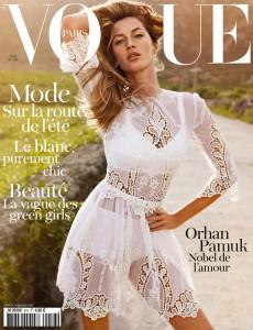 Gisele Vogue Paris Emmanuelle Alt