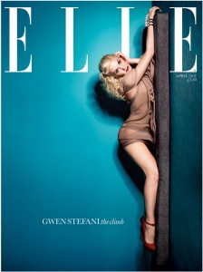 Gwen Stefani Elle UK