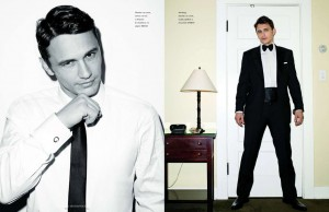 James Franco Vogue Hommes