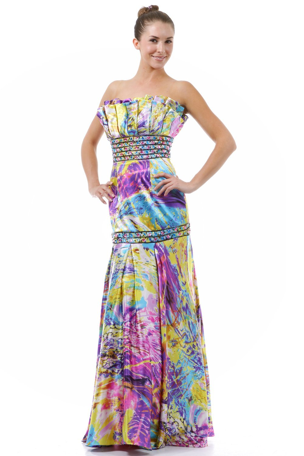 6f564b32049 Who goes to prom to blend in  This multicolor