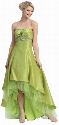 85dd6856766 For those looking for Valentino shapes on a princess dress  This lime prom  dress ...