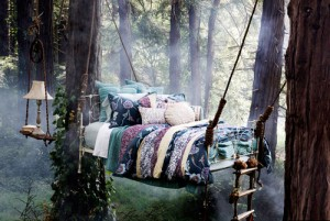 Bed in Nature