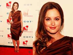 Leighton Meester DKMS Gala