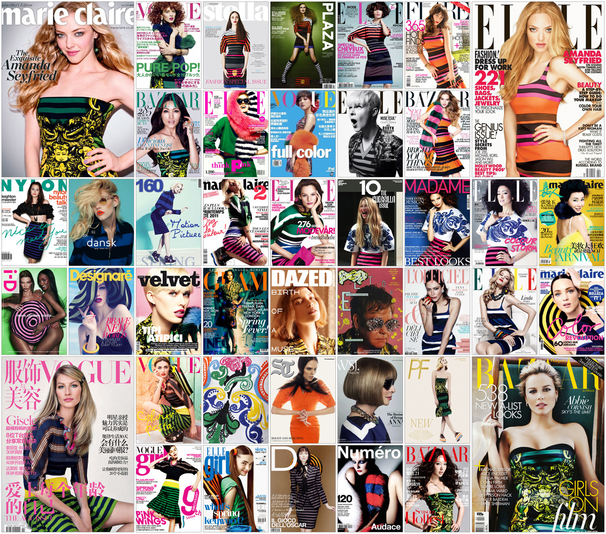 fashion magazine covers collage wwwpixsharkcom