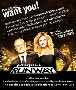 Project Runway Apply