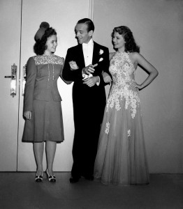 Shirley Temple Fred Astaire Rita Hayworth
