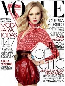 Siri Tollerod Vogue Mexico