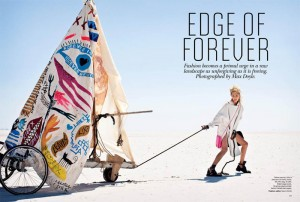 Vogue Australia Edge of Forever