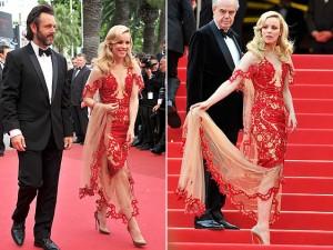 Cannes Rachel McAdams Marchesa