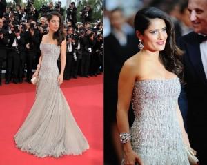 Cannes Salma Hayek Gucci