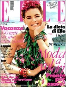 Flavia de Oliveira Elle Italia