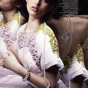 Georgina Stojiljkovic Vogue Russia
