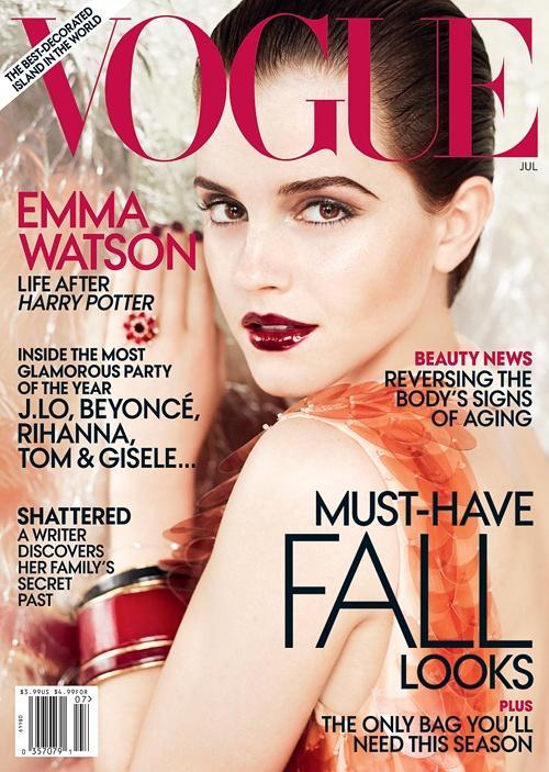 emma watson vogue photo shoot. Emma Watson in US Vogue#39;s