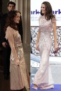 Kate Middleton Blair Waldorf