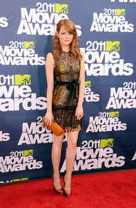 MTV Movie Awards 2011 Emma Stone