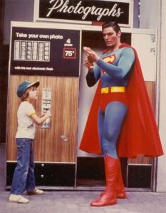 Superman Photobooth