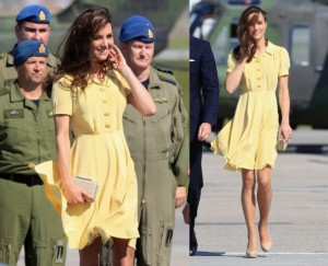 Kate Middleton Yellow Dress