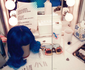 Katy Perry Dressing Room