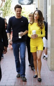 Maggie Q Yellow Outfit