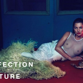 Perfection in Couture Kate Moss