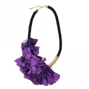 Purple Python Necklace