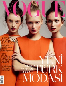 Egle Milly Yana Vogue Turkey