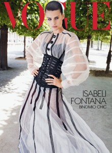 Isabeli Fontana Vogue Mexico September 2011