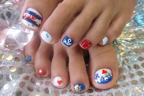 Tumblr Nails Photography Nautical nails