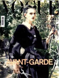 Vogue Italia Stella Tennant Corset