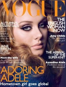 Adele Vogue UK