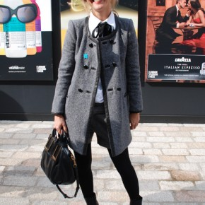 London Fashion Week Street Style Justine SImmons