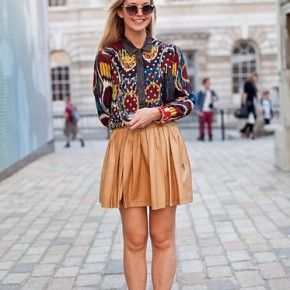 London Fashion Week Street Style Zoe Kuipers