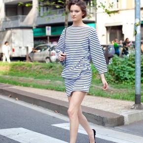 Milan Fashion Week Street Style Nadine Ponce