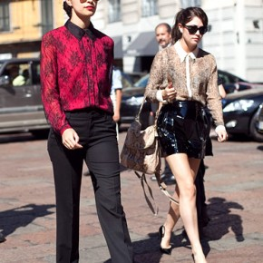 Milan Fashion Week Street Style Caroline Issa