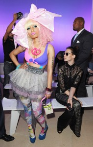 Nicki Minaj Fashion Week