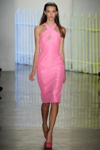 Pink Dress Cushnie et Ochs