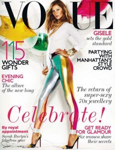 Gisele Balloons Vogue