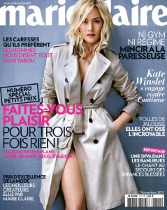Kate Winslet Marie Claire France