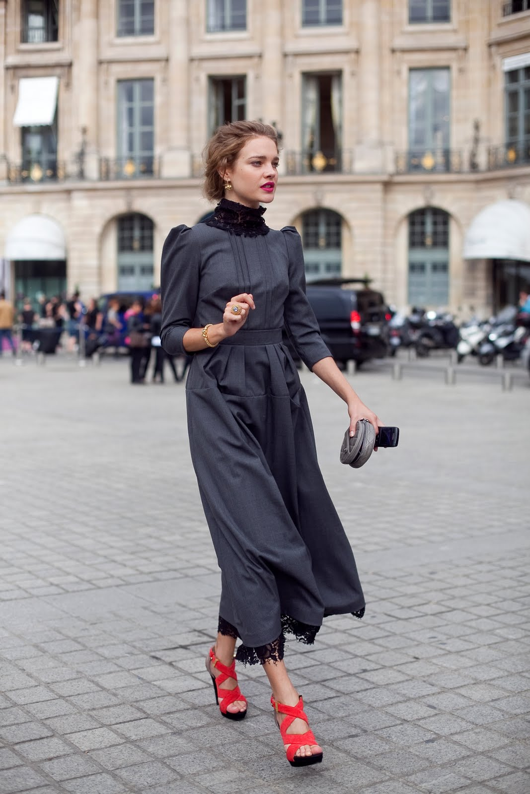 Paris Fashion Week Best Dressed Natalia Vodianova Lela London Travel Food Fashion Beauty