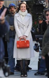 Blair Waldorf White Coat
